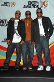 Ralph Tresvant with Johnny Gill and Bobby Brown in the press room at the 2009 BET Awards. Shrine Auditorium, Los Angeles, CA. 06-28-09