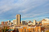 picture of virginia  - Richmond Virginia skyline on a winter morning - JPG