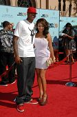 Carmelo Anthony and LaLa Vazquez  at the 2009 BET Awards. Shrine Auditorium, Los Angeles, CA. 06-28-