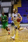 Basketball Eurocup Game Between Budivelnik Kyiv And Union Olimpija