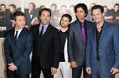 Cast of 'Entourage' at the Los Angeles Premiere of 'Entourage' Season Six. Paramount Theater, Hollyw