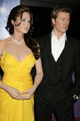 Celebrity Wax Model Angelina Jolie and Brad Pitt  at the Grand Opening of Madame Tussauds Wax Museum Hollywood. Madame Tussauds Wax Museum Hollywood, Hollywood, CA. 07-21-09