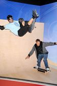 Tony Hawk at the Unveiling of Madame Tussauds Wax Figure of Tony Hawk. Madame Tussauds Wax Museum, Hollywood, CA. 07-29-09