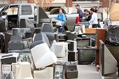 Discarded Electronics Pile Up At County Recycling Event
