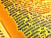 dictionary wrong