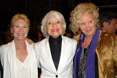 Dee Wallace Stone with Carol Channing and Sally Kirkland at the Los Angeles Premiere of 'Gotta Dance