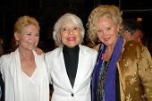 Dee Wallace Stone with Carol Channing and Sally Kirkland  at the Los Angeles Premiere of 'Gotta Danc