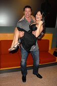 Roland Kickinger and Romi Dames at the Los Angeles Premiere of 'Gotta Dance'. Linwood Dunn Theatre,