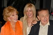 Ruta Lee with Joan Van Ark and Jack Carter  at the Los Angeles Premiere of 'Gotta Dance'. Linwood Du