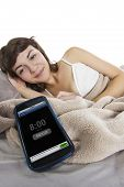 Snoozing Cell Phone Alarm