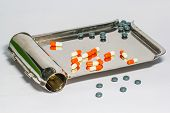 Pill Counting Trays