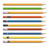 Pencils various design