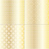 Gold fretwork Patterns