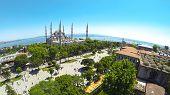 Sultanahmet panorama