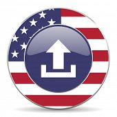 upload american icon
