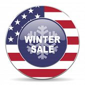 winter sale american icon