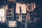 Laundry In Vintage House