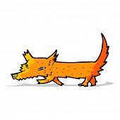 cartoon little fox