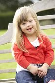 3 year old girl with Downs Syndrome