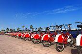 Bike Sharing In Barcelona Spain