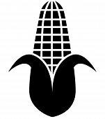 Corn Silhouette