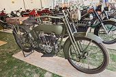 Old Military Harley Davidson