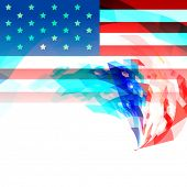 creative 4th of july independence day background of america
