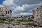Parthenon And Erechtheion