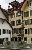 Fountain In Aarau, Switzerland