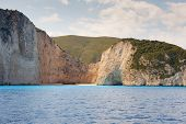 Shipwreck Bay, navagio Beach,  Zakynthos, Greece