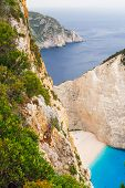 Shipwreck Bay,navagio Beach,  Zakynthos, Greece