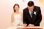 Signing Of The Marriage Contract