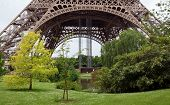 Paris - Garden Near The Eiffel Tower
