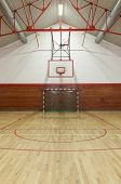 View from center court in old gym