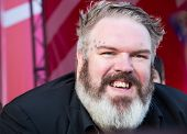 MOSCOW - JUNE, 19: Actor Kristian Nairn (Hodor, Game of Trones), 36th Moscow International Film Fest