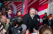 MOSCOW - JUNE, 19: Actor Kristian Nairn (Hodor, Game of Trones), 36th Moscow International Film Festival. Opening Ceremony at Pushkinsky Cinema . June 19, 2014 in Moscow, Russia