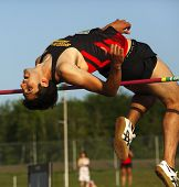 High Jump Man Bar Bend