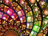 Colorful Stained-glass
