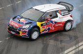 Citroen Car At Moscow City Racing