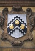 Coat Of Arms In Gonville And Caius College, Cambridge University