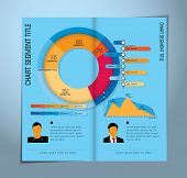 Magazine Infographics, vector