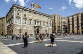 The Palau De La Generalitat Barcelona