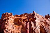 Rain God Mesa; Monument Valley National Park, Arizona