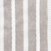 gray and white stripes fabric closeup