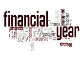 Financial Year Word Cloud