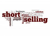Short Selling Word Cloud
