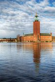 Stockholm city-hall.