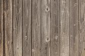 Old Grey Planks With Fading Brown Varnish