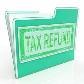 Tax Refund Shows Taxes Paid And Administration