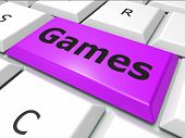 Games Online Shows World Wide Web And Entertaining
